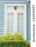 beautiful window style in... | Shutterstock . vector #132545957