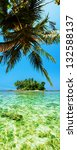 tropical island. panoramic...   Shutterstock . vector #132588137