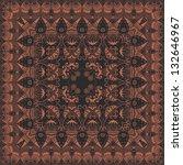 vector fine floral square frame....   Shutterstock .eps vector #132646967