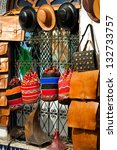 bags  purses  hats and other... | Shutterstock . vector #132733757