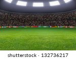 Green Soccer Stadium ...
