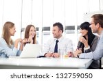 Business people meeting. - stock photo