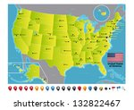 united states of america | Shutterstock .eps vector #132822467