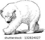 polar bear cubs   Shutterstock .eps vector #132824027