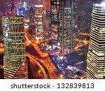 bird view at shanghai china....   Shutterstock . vector #132839813