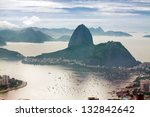 Sugar Loaf in Rio - stock photo