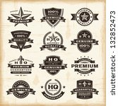 Vintage Premium Quality Labels...