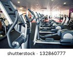 diverse equipment and machines... | Shutterstock . vector #132860777