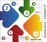 four color arrows | Shutterstock .eps vector #132866717