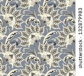 seamless floral pattern | Shutterstock .eps vector #132879983