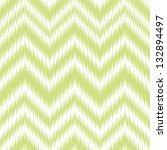 seamless tendershoot green ikat ... | Shutterstock .eps vector #132894497