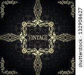 vintage seamless background...   Shutterstock .eps vector #132908627