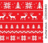 Seamless Pattern With Winter...