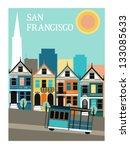 San Francisco California.vector
