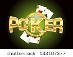 poker | Shutterstock . vector #133107377
