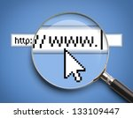 internet browser search bar...   Shutterstock . vector #133109447