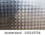 stainless steel background with traces of processing - stock photo