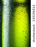 Green Bottle With Drops....