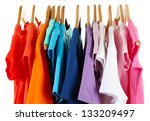 choice of clothes of different... | Shutterstock . vector #133209497
