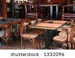 outdoor cafeteria | Shutterstock . vector #1332096