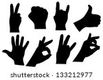 hand sign collection