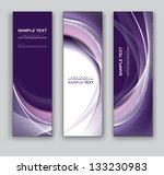 abstract banners. vector eps10... | Shutterstock .eps vector #133230983