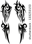 tattoo for arms.vector | Shutterstock .eps vector #133253153