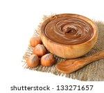 Chocolate And Hazelnuts On...