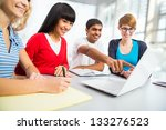 young students studying together | Shutterstock . vector #133276523