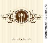 restaurant menu card design | Shutterstock .eps vector #133286273