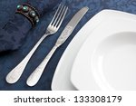 Dinner Decoration, Background - stock photo