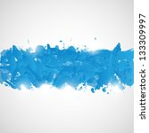 abstract background with blue... | Shutterstock . vector #133309997