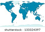 relief map of the world   each... | Shutterstock .eps vector #133324397