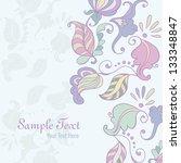 decorative element. vector... | Shutterstock .eps vector #133348847