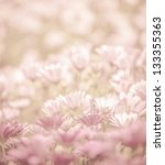 Pink Abstract Floral Backgroun...