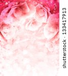 Stock photo abstract pink flower card beautiful flower background spring background 133417913