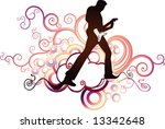 rock and roll live | Shutterstock .eps vector #13342648