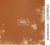 vector grunge textured paper | Shutterstock .eps vector #133458923