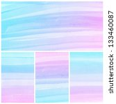 set of colorful abstract water...   Shutterstock . vector #133460087