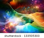 dreamscape series. backdrop of... | Shutterstock . vector #133505303