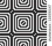 pattern black   white | Shutterstock .eps vector #133550147