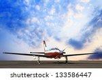 Plane Landing And Sky...