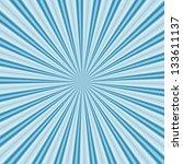 radial rays | Shutterstock . vector #133611137