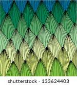 grass green. vector. | Shutterstock .eps vector #133624403