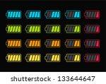 vector illustration of battery...   Shutterstock .eps vector #133644647