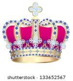 illustration tsarist gold... | Shutterstock .eps vector #133652567