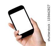Blank Screen Mobile Phone In...