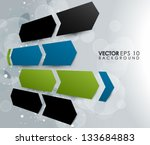 abstract vector design eps 10 | Shutterstock .eps vector #133684883