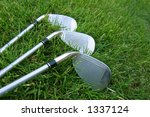 Golf Club Choices - stock photo