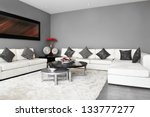 interior design  living room | Shutterstock . vector #133777277